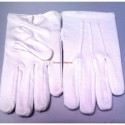 Freemason Masonic Plain Cotton White Gloves Short Wrist Hand with out Button.