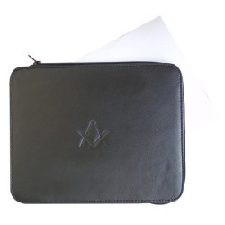 Masonic Lodge Freemasons Certificate wallet in Faux/Imitative Leather with S&C debossed
