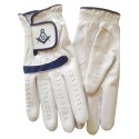 Real Leather Golf Glove with Masonic symbol SC&G - Left or Right Hand